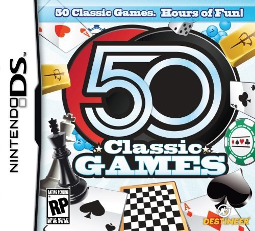 Nintendo Ds 50 Classic Games Destineer Publishing E