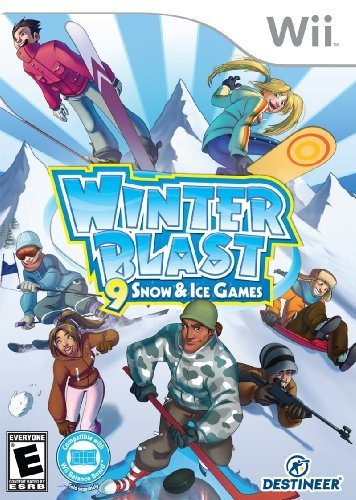 Wii Winter Blast Snow & Ice Ga Cokem International Ltd.