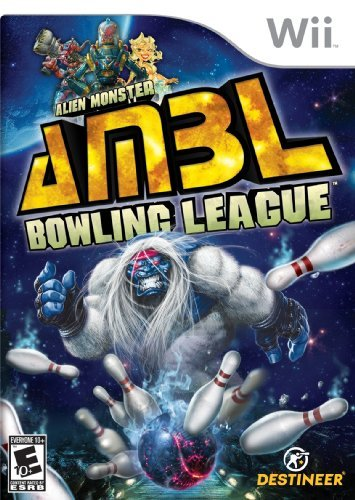 Wii Alien Monster Bowling League