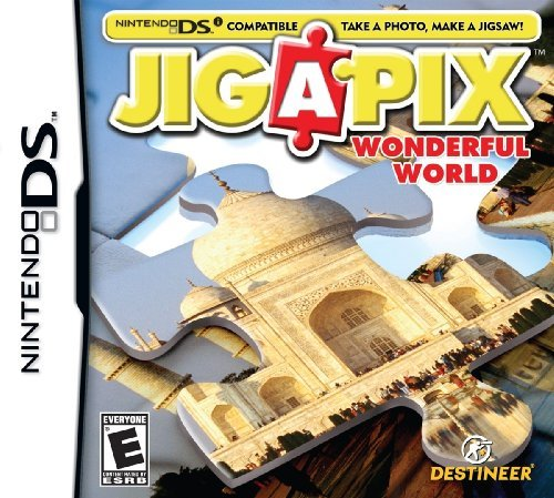 Nintendo Ds Jigapix Wonderful World