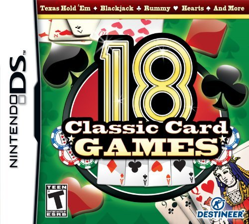 Ninds 18 Classic Card Games Cokem International Ltd. T