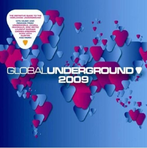 Global Underground 2009 Gu 2009 Mixed 2 CD Set