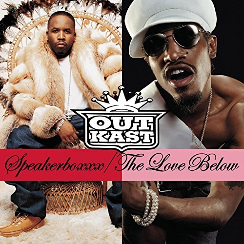 Outkast Speakerboxxx The Love Below Explicit Version 4 Lp Set