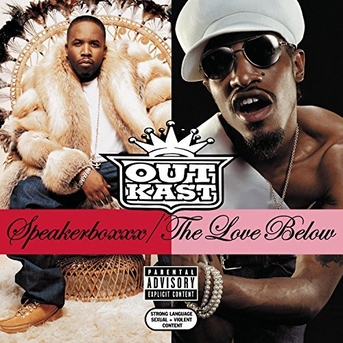 Outkast Speakerboxxx The Love Below Explicit Version 2 CD Set