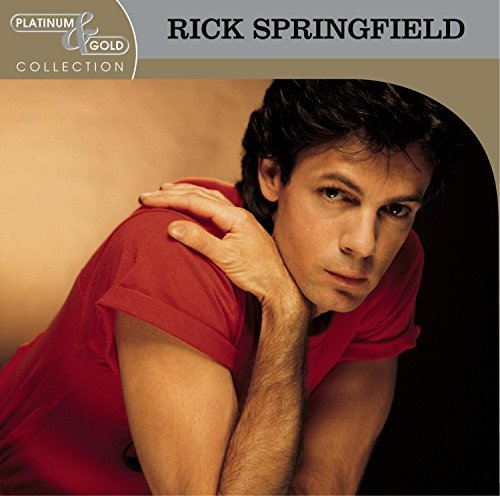 Rick Springfield Platinum & Gold Collection CD R Platinum & Gold Collection