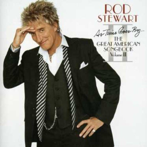 Rod Stewart As Time Goes By The Great Amer Import Arg