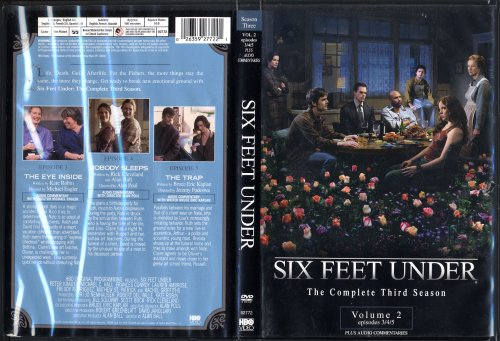 Six Feet Under Season 3 Vol. 2