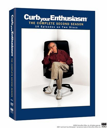 Curb Your Enthusiasm Season 2 DVD