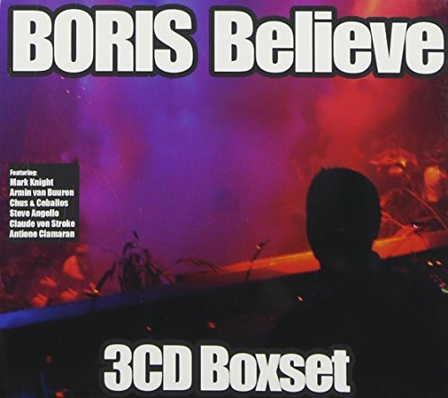 Dj Boris Believe Boxset 3 CD