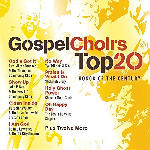 Gospel Choirs Top 20 Songs Of Gospel Choirs Top 20 Songs Of Hawkins Lawrence Dillard 2 CD Set