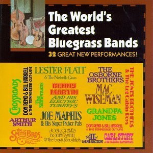 World's Greatest Bluegrass Ban Vol. 1 World's Greatest Bluegr Flatt Wiseman Maphis Martin World's Greatest Bluegrass Ban