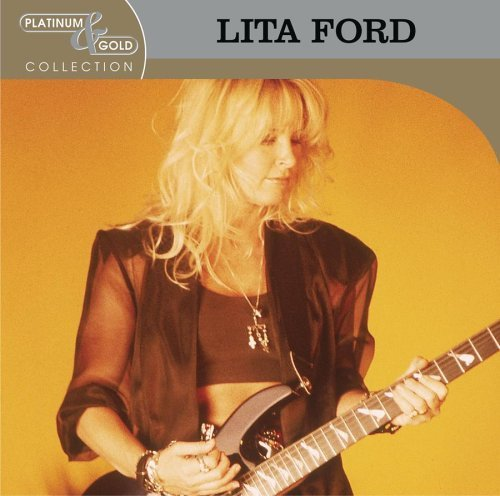 Lita Ford Platinum & Gold Collection CD R Remastered Platinum & Gold Collection