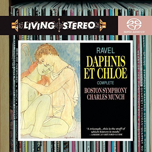 Joseph Maurice Ravel Deph Et Chloe Sacd Munch Boston So