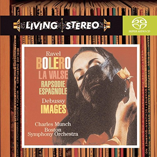 Joseph Maurice Ravel Bolero La Valse Sacd Munch Boston So