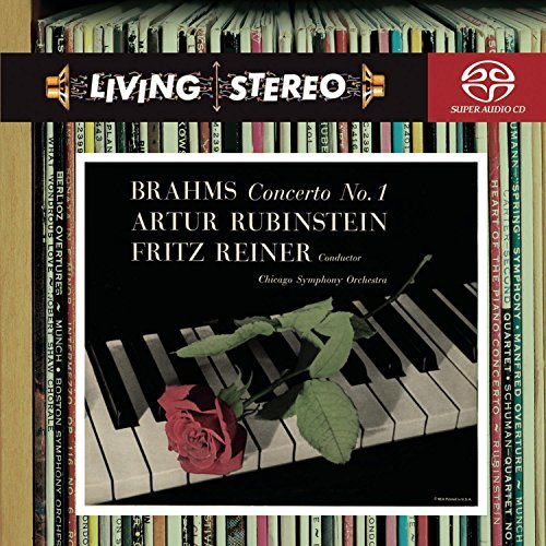 Johannes Brahms Piano Ct No 1 Sacd Reiner Chicago So