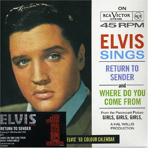 Elvis Presley Return To Sender Import Eu