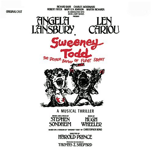 Broadway Cast Sweeney Todd Remastered Incl. Bonus Tracks 2 CD Set