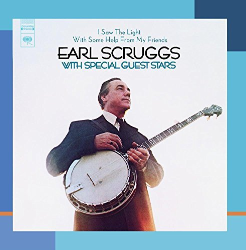 Earl Scruggs I Saw The Light With Some Help CD R Remastered