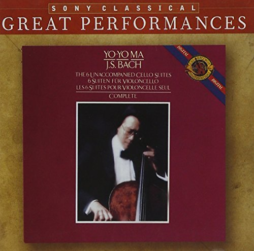 J.S. Bach 6 Unaccompanied Cello Stes Ma*yo Yo (vc) 2 CD Set