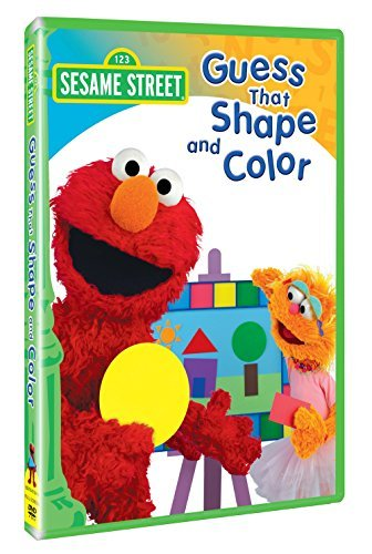 Sesame Street Guess That Shape & Color Clr Nr