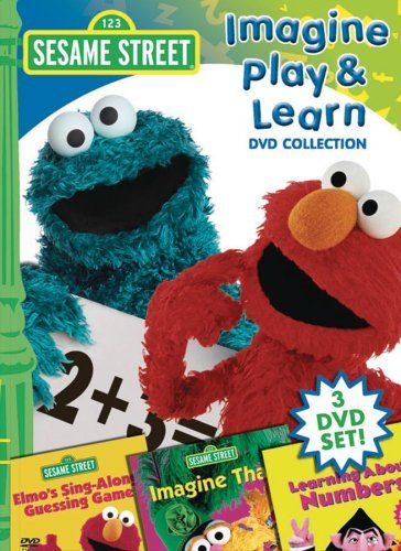Imagine Play & Learn Sesame Street Nr 3 DVD