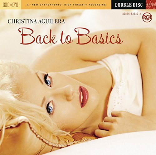 Christina Aguilera Back To Basics 2 CD Set