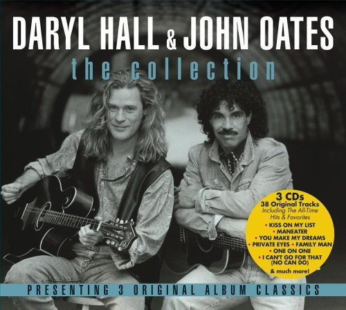 Hall & Oates Collection 3 CD Set Cube