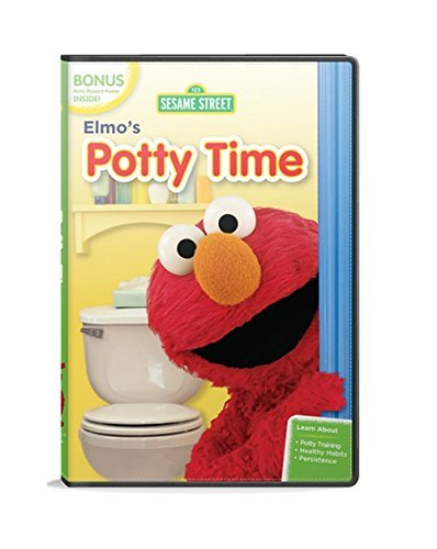 Sesame Street Elmo's Potty Time Clr Nr