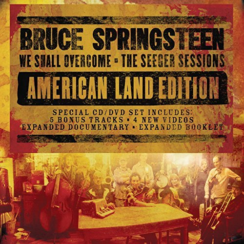Bruce Springsteen We Shall Overcome Seeger Sess Deluxe CD Incl. DVD