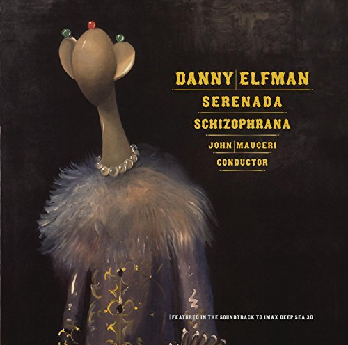 Serenada Schizophran Score Sacd Music By Danny Elfman