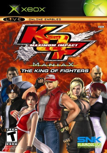 Xbox King Of Fighters Maximum Impact