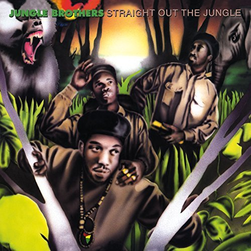 Jungle Brothers Straight Out The Jungle 2 Lp