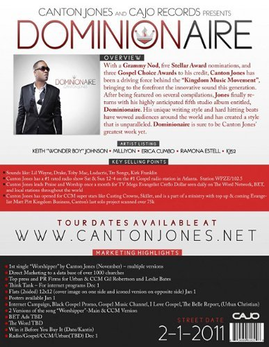 Canton Jones Dominionaire
