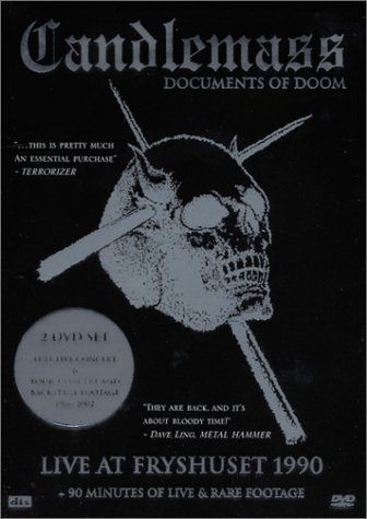 Candlemass Documents Of Doom 2 DVD