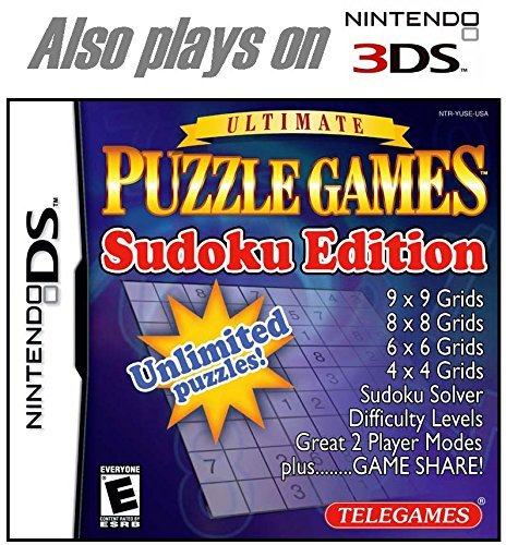 Nintendo Ds Ultimate Puzzle Games Sudoku Edition (nintendo Ds