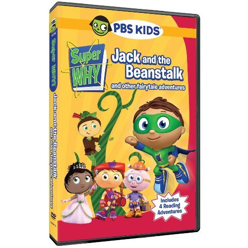 Super Why Jack & The Beanstalk DVD