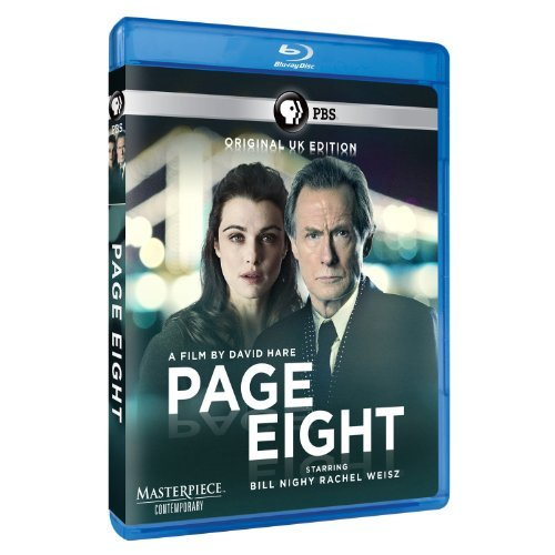 Page Eight Masterpiece Contemporary Blu Ray Ws U.K. Ed. Nr