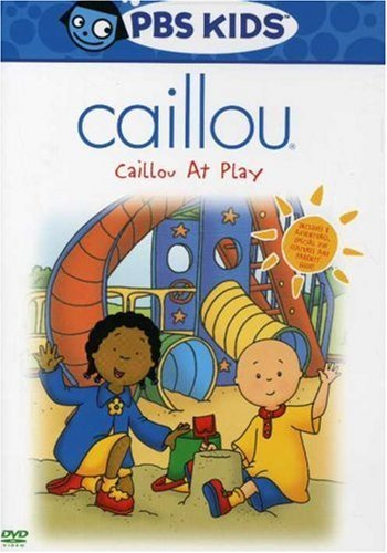 Caillou Caillou At Play DVD Nr
