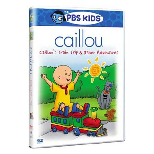 Caillou Caillou's Train Trip & Other Adventures DVD Nr