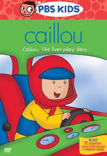 Caillou Caillou The Everyday Hero DVD Nr