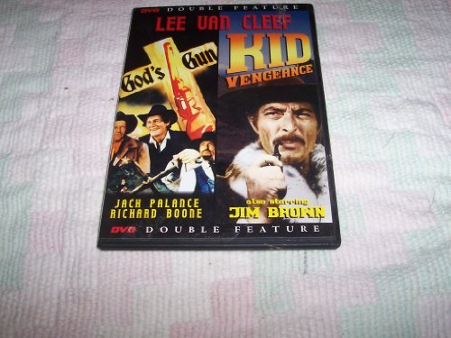 Jack Palance Jack Palance Lee Van Cleef Richard Bo God's Gun & Kid Vengeance (double Feature)
