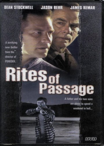 Dean Stockwell Victor Salva James Remar Rites Of Passage (1999) (2006 Dvd)