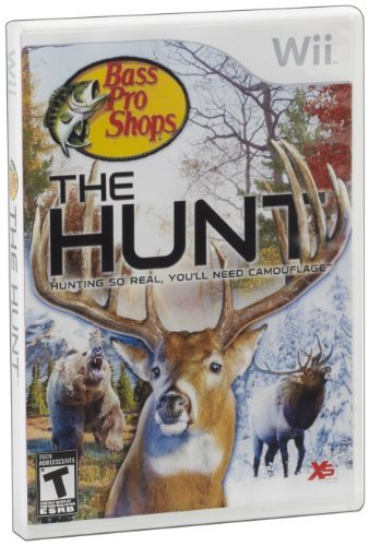 Wii Bass Pro Shops The Hunt Software Only