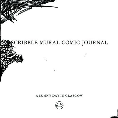 Sunny Day In Glasgow Scribble Mural Comic