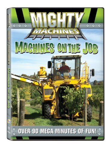 Machines On The Job Mighty Machines Nr