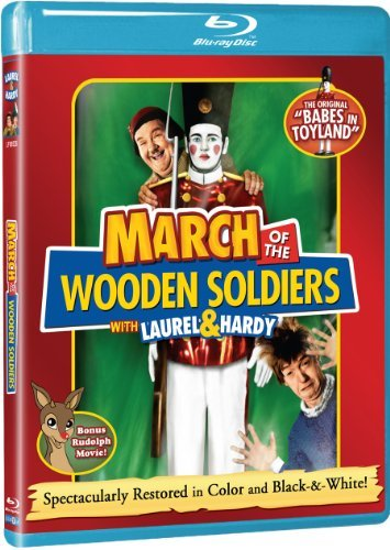 March Of The Wooden Soldiers March Of The Wooden Soldiers Blu Ray Ws Nr