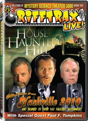 Rifftrax Live! House On Haunted Hill Ws Nr