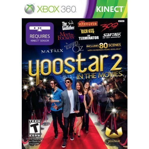 X360 Kinect Yoostar 2 In The Movies Rp