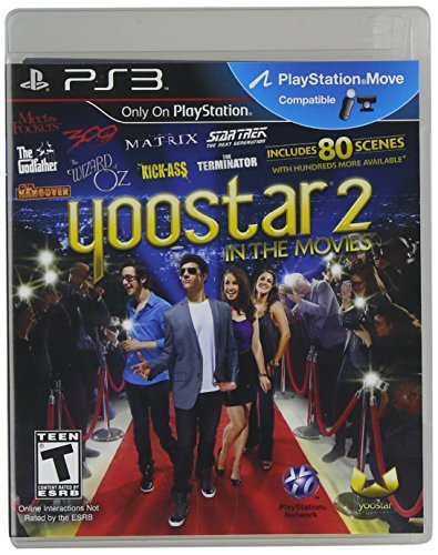 Ps3 Move Yoostar 2 In The Movies Yoostar Ent. Group Inc T