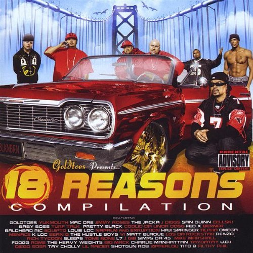 Thizz Latin 18 Reasons Explicit Version 2 CD